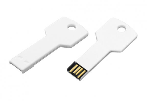 USB Schlüssel weiß