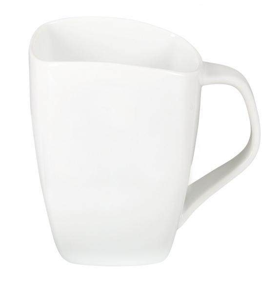 Teetasse bedruckt  geschwungen