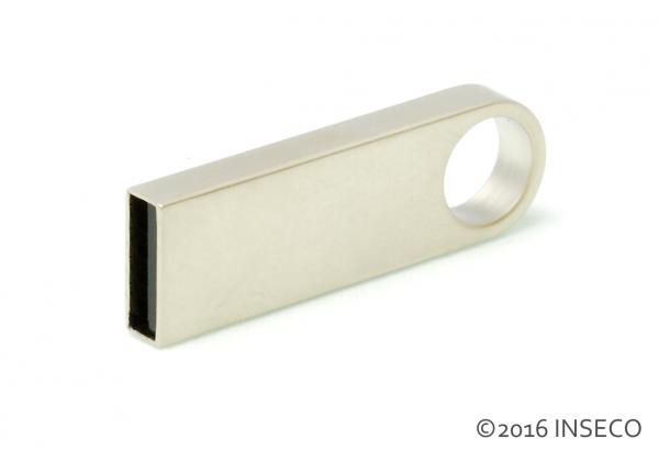 Edelstahl USB Stick